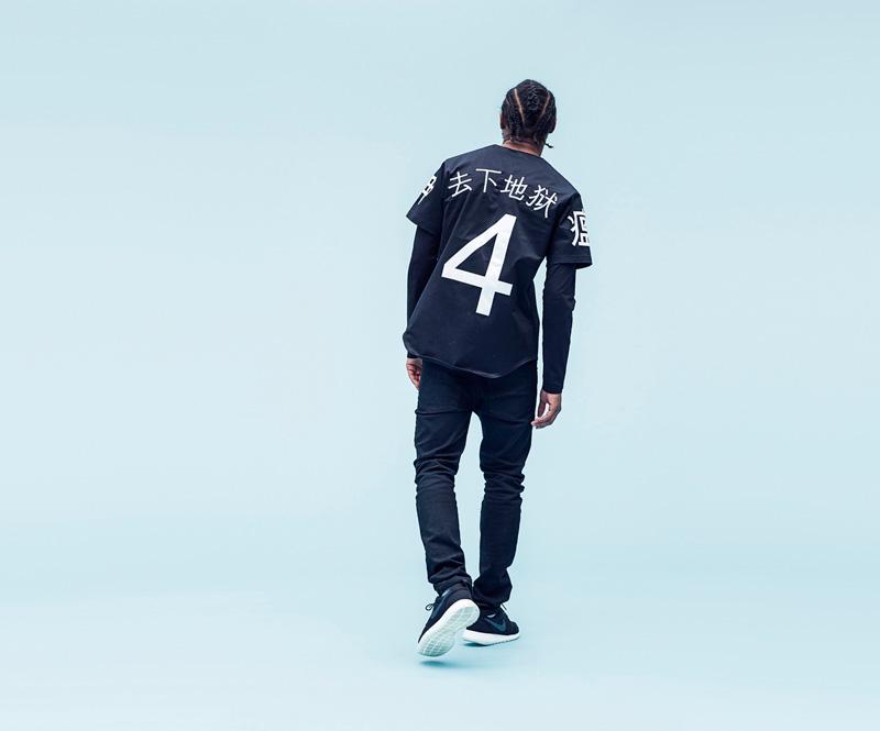 Shook – pánská černá košile spotiskem