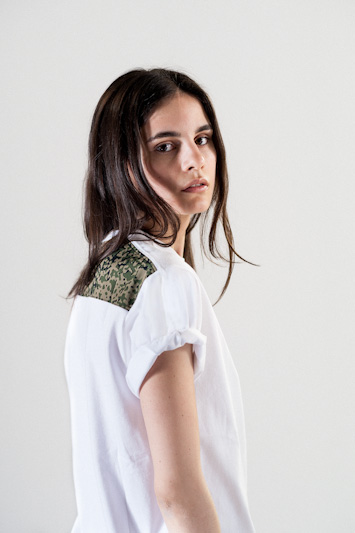 Carhartt WIP – bílé tričko dámské
