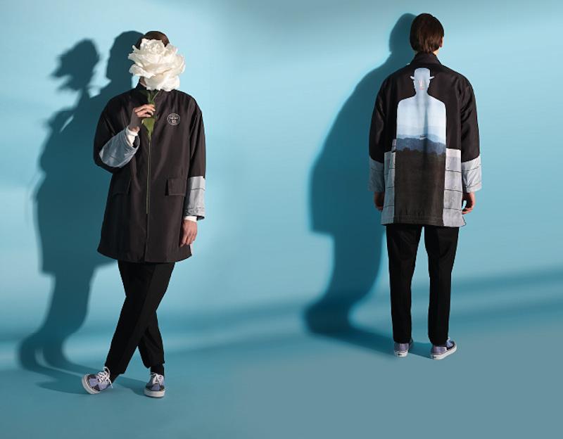 Opening Ceremony – surrealistická bunda, René Magritte