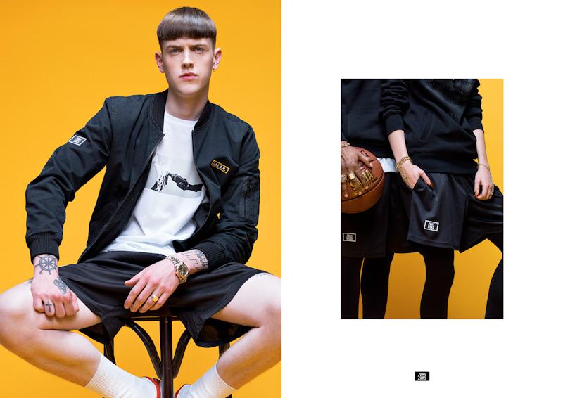 Zirkus Zirkus – Loayals – jarní/letní bunda, černé šortky