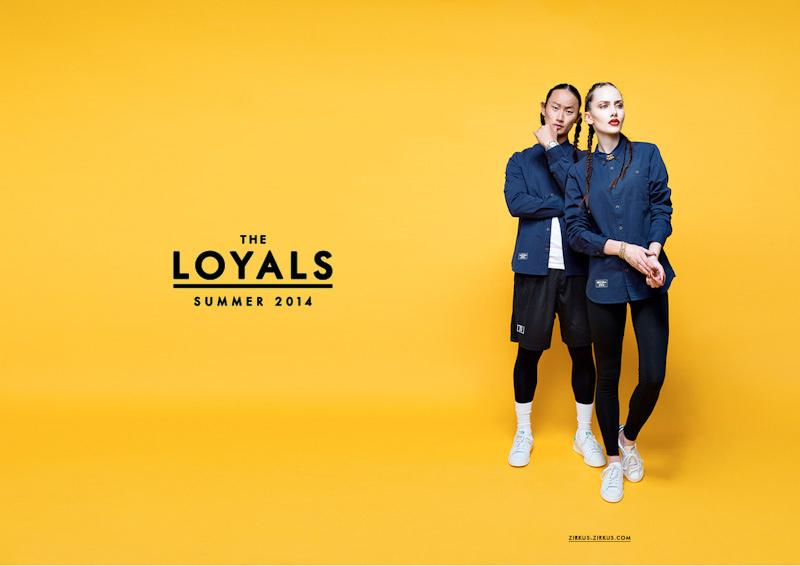 Zirkus Zirkus – Loayals – modrá košile