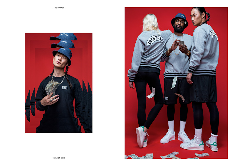 Zirkus Zirkus – Loayals – šedá mikina, černé šortky