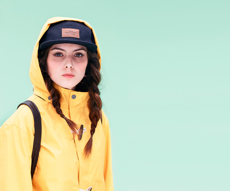 Shook – dámská žlutá jarní parka