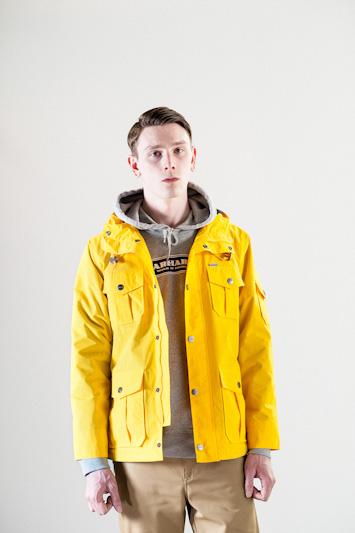 Carhartt WIP – pánská žlutá bunda s kapucí, jarní/letní