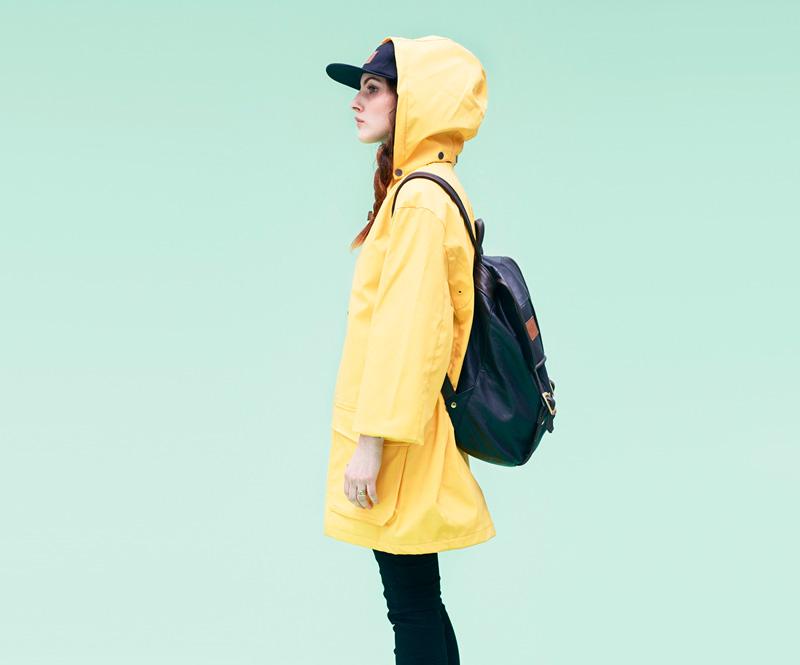 Shook – parka skapucí, žlutá