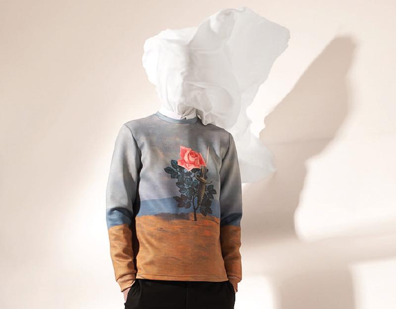 Opening Ceremony – surrealistická mikina, René Magritte