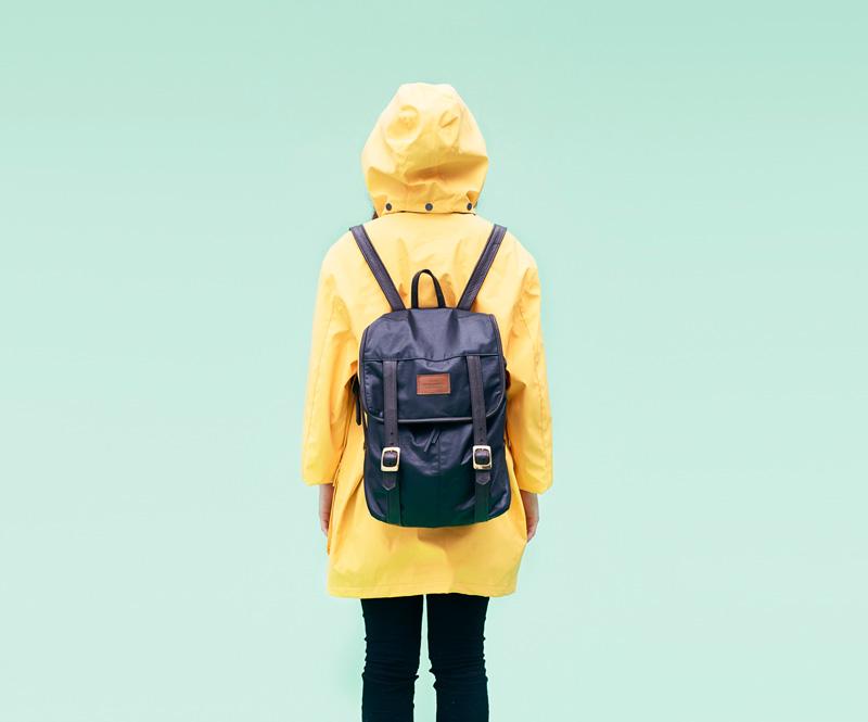 Shook – žlutá jarní parka skapucí