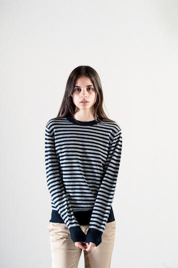Carhartt WIP – pruhované tričko, dámské