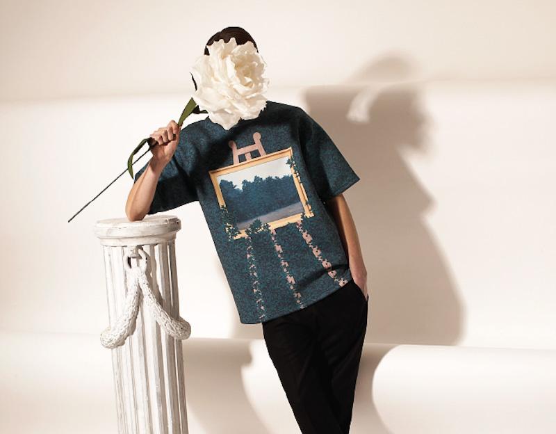 Opening Ceremony – surrealistické tričko, René Magritte