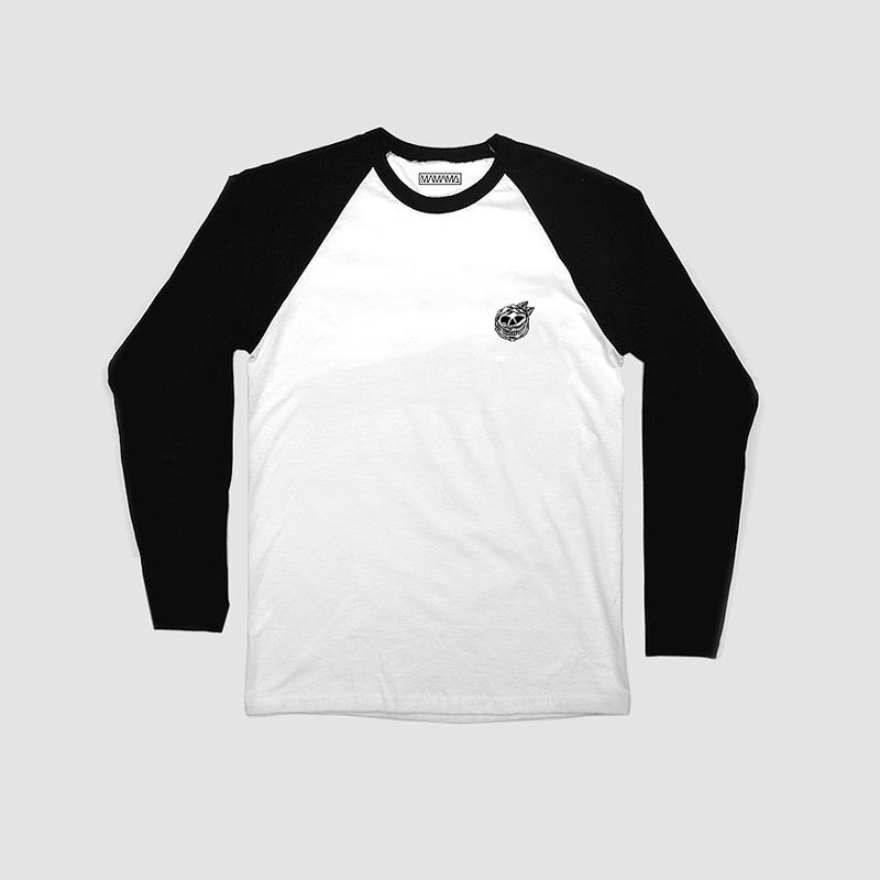 MAMAMA – černo-bílé tričko, Mark Goss