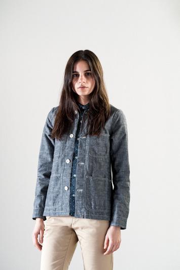 Carhartt WIP – krátká dámská bunda, šedá
