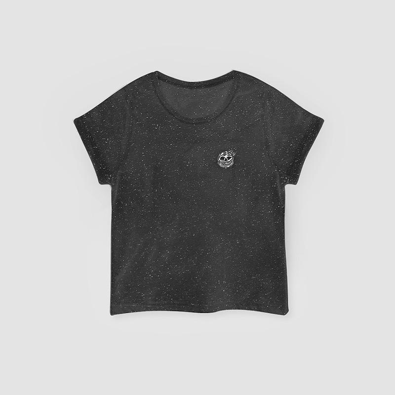 MAMAMA – krátké černé tričko