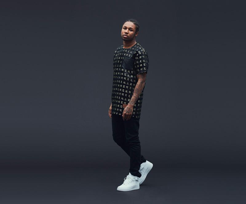 Shook – pánské černé tričko