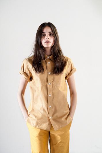 Carhartt WIP – písková košile, dámská