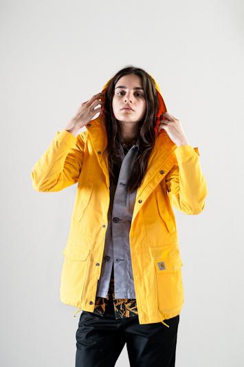 Carhartt WIP – žlutá jarní/letní bunda, dámská