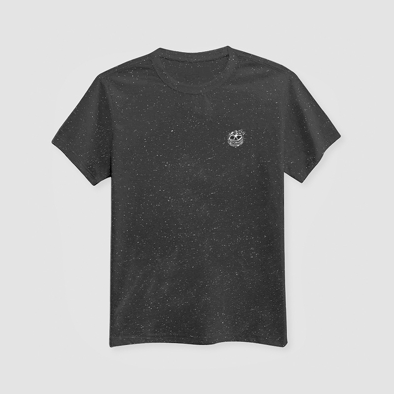 MAMAMA – černé tričko sbílými tečkami