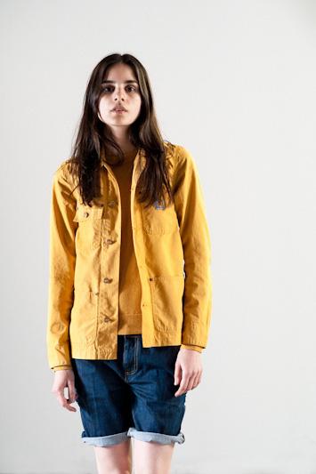 Carhartt WIP – krátká jarní/letní bunda, žlutá, dámská