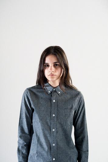 Carhartt WIP – šedá košile se vzorem, dámská