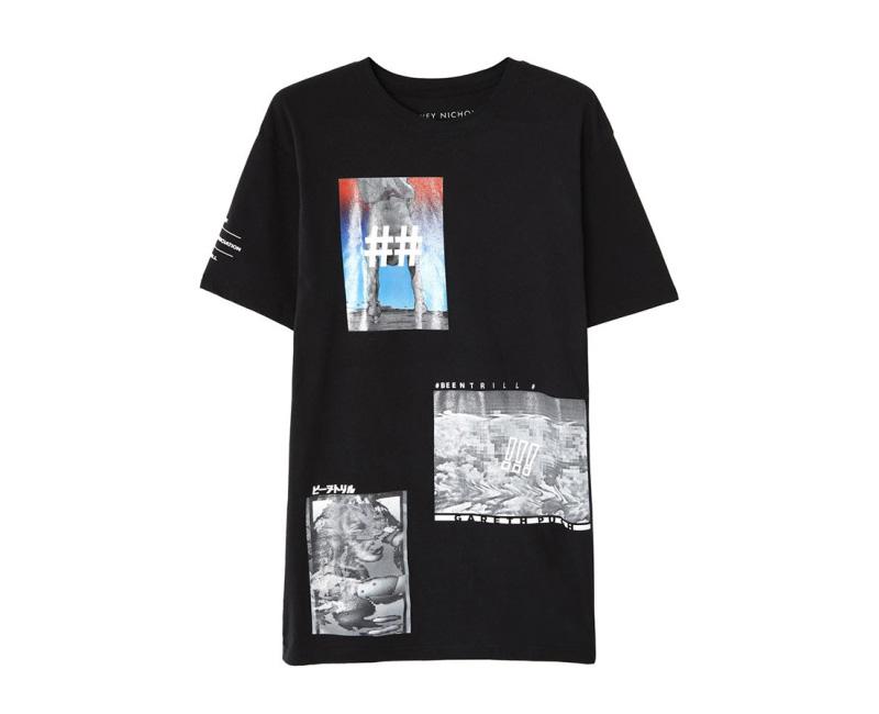 Been Trill – černé tričko s potiskem
