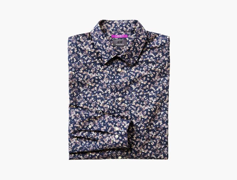 Pánská košile se vzorem Liberty London & HM