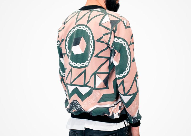 Apollo Krieg – mikina s psychedelickým motivem