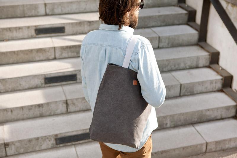 Ucon Acrobatics – taška přes rameno, šedá, bavlněná
