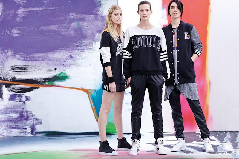 adidas Originals – dámské kalhoty, mikiny, boty