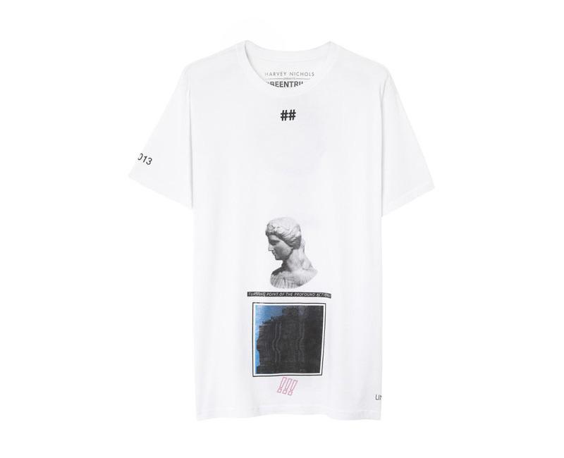 Been Trill – bílé tričko s potiskem