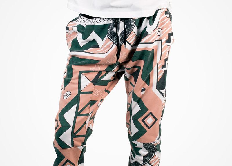Apollo Krieg – kalhoty s psychedelickým motivem