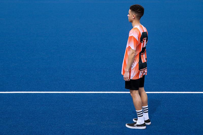 CTRL+C – oranžový fotbalový dres, tričko