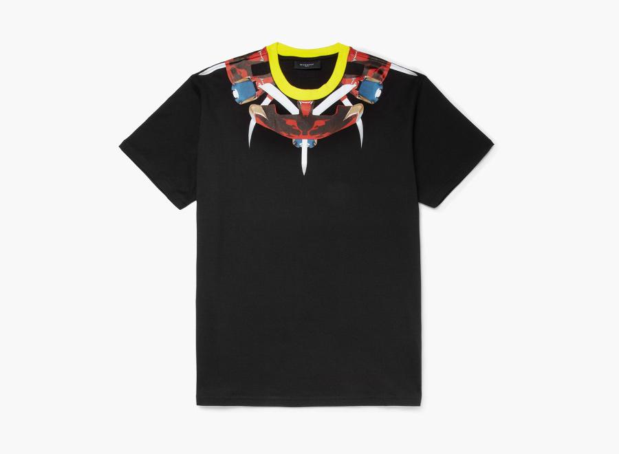 Givenchy – černé triko s potiskem