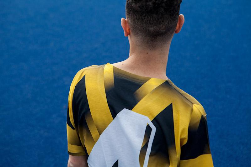 CTRL+C – žluto-černý fotbalový dres, tričko
