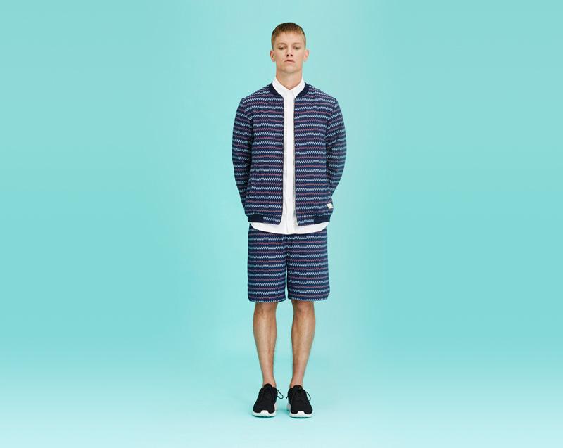 Libertine-Libertine – pánské oblečení – bunda se vzorem, šortky se vzorem