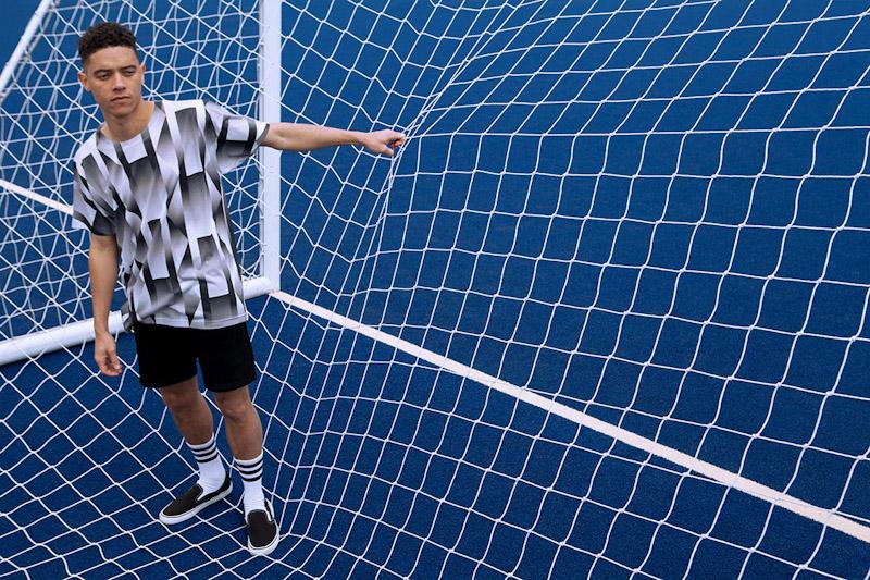 CTRL+C – černo-bílý fotbalový dres, tričko