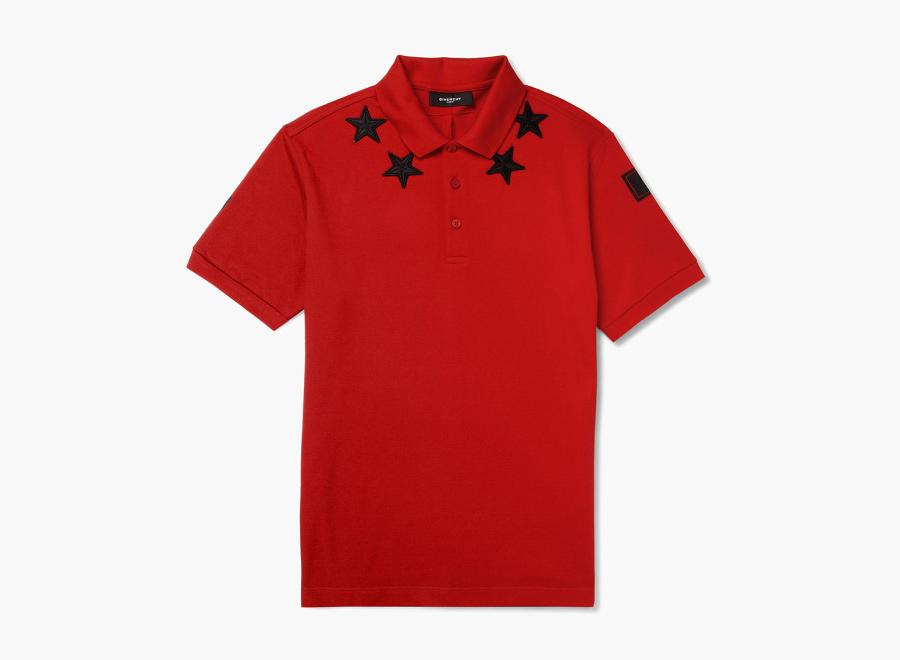 Givenchy – červené polo triko