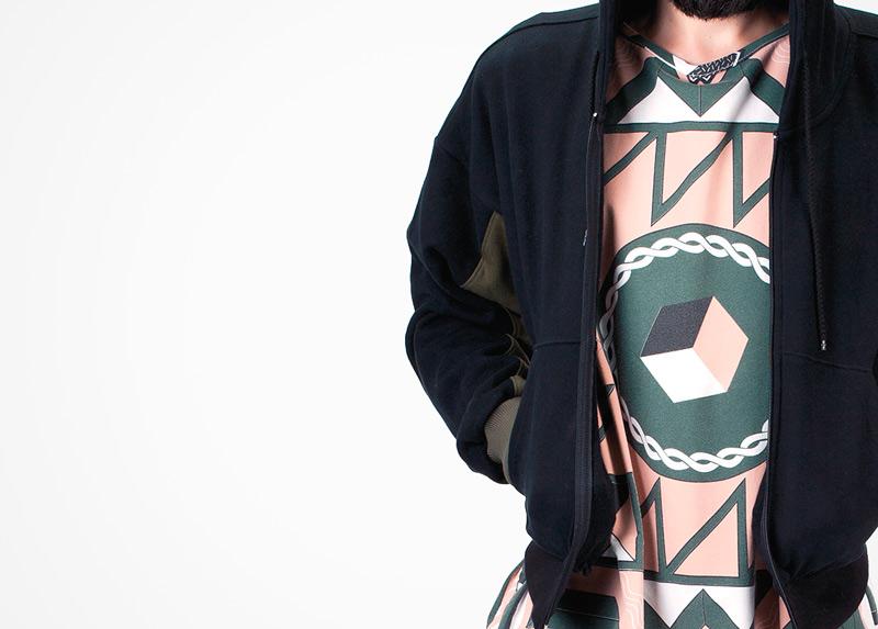 Apollo Krieg – tričko s psychedelickým motivem