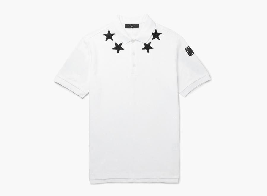 Givenchy – bílé polo tričko