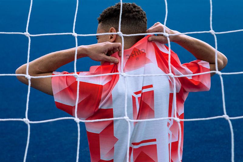 CTRL+C – červený fotbalový dres, tričko