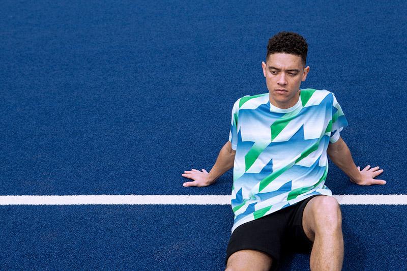 CTRL+C – fotbalový dres, modro-zeleno-bílý