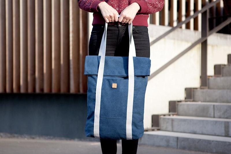 Ucon Acrobatics – taška do ruky, přes rameno, modrá, bavlněná