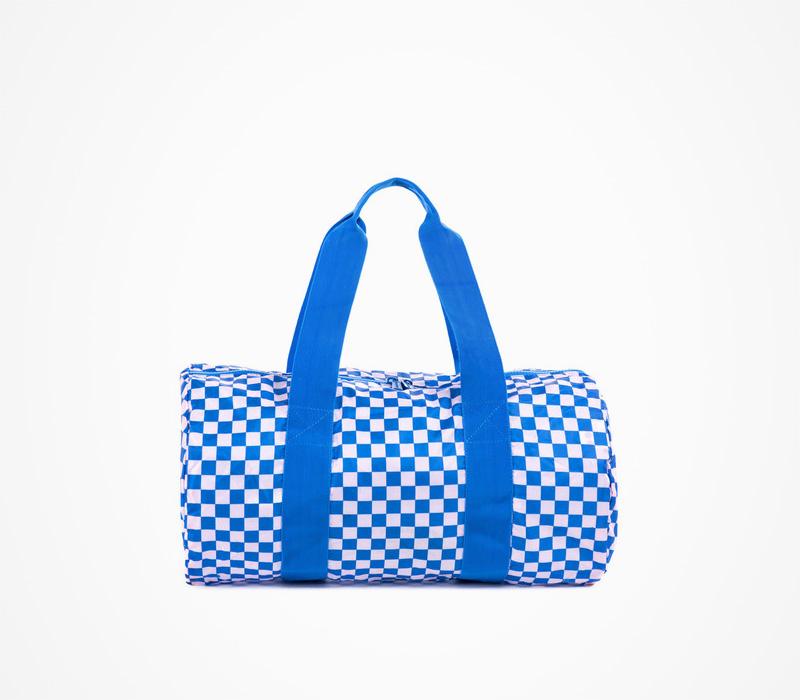 Herschel Supply batohy – cestovní taška do ruky, kostkovaná, plátěná