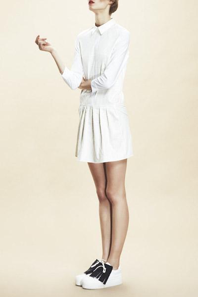 Asli Filinta – letní bílé šaty