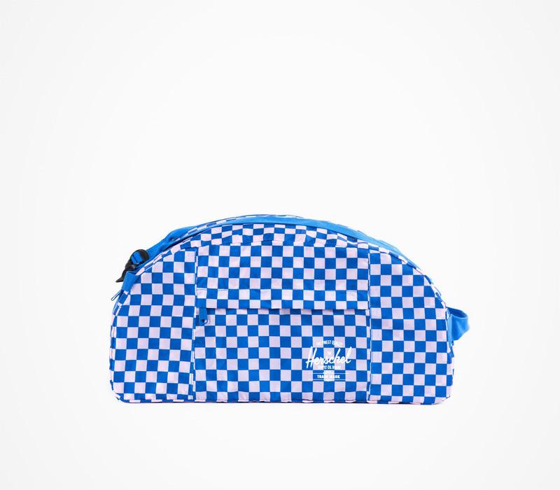 Herschel Supply – skládací cestovní taška, kostkovaná modrá