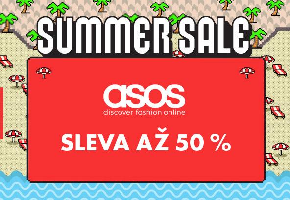 E-shop Asos – letní slevy až 50 %