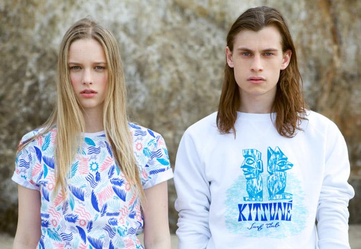 Maison Kitsuné – pánské a dámské letní oblečení