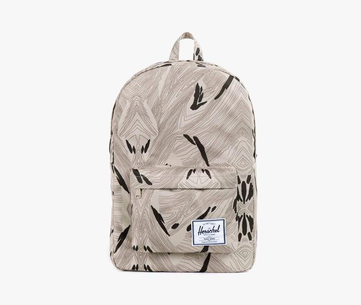 Batoh Herschel Supply – Classic Backpack, Geo, šedý se vzorem