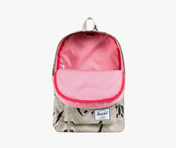 Plátěný batoh Herschel Supply – Classic Backpack, Geo, šedý