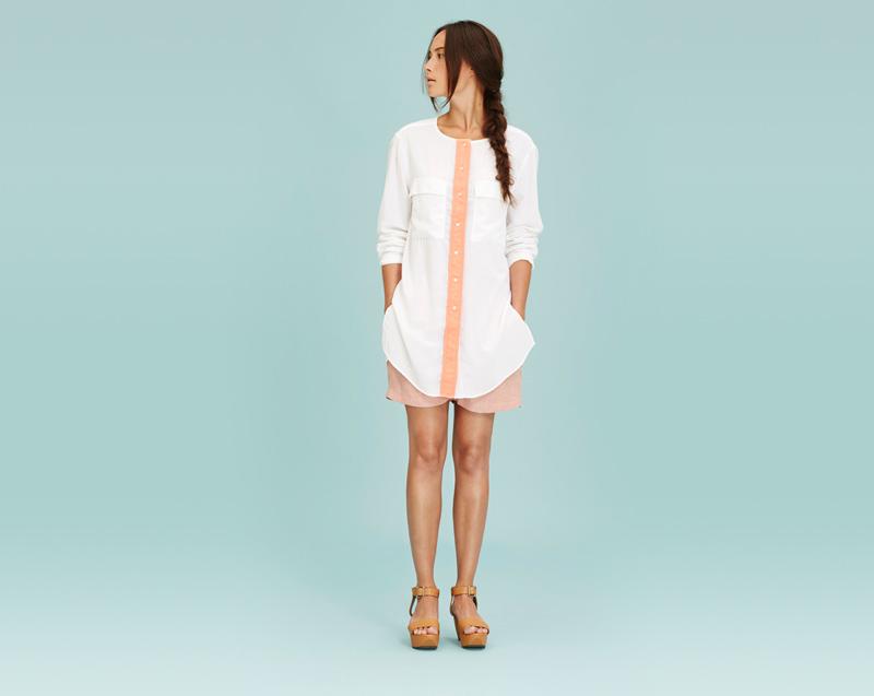 Libertine-Libertine – dámské oblečení – dlouhá bílá letní blůza