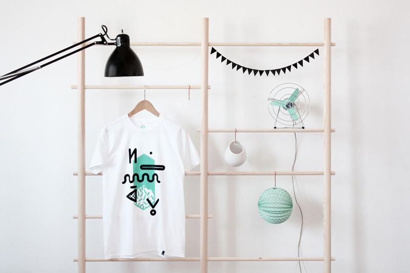 Noway – bílé tričko s potiskem, pánské, dámské