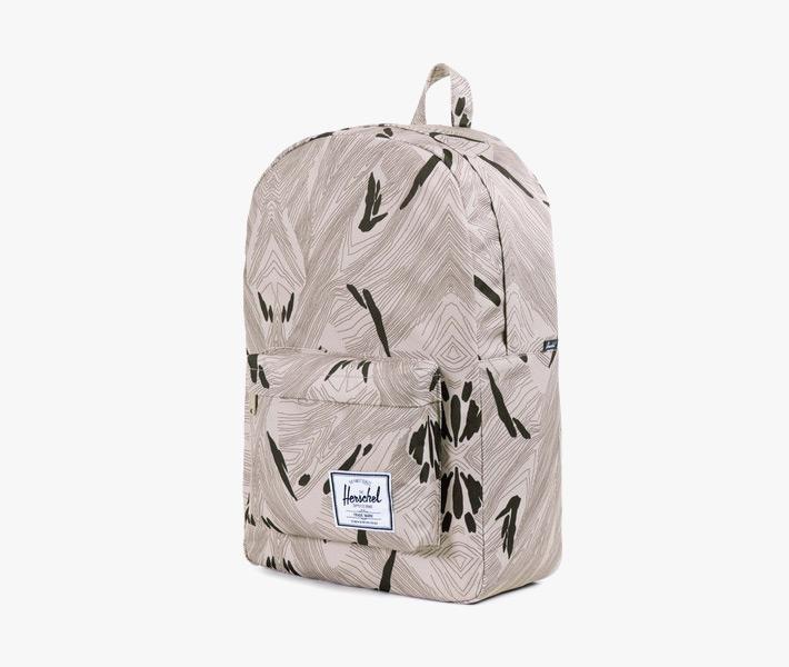 Stylový batoh Herschel Supply – Classic Backpack, Geo, šedý, vzorovaný